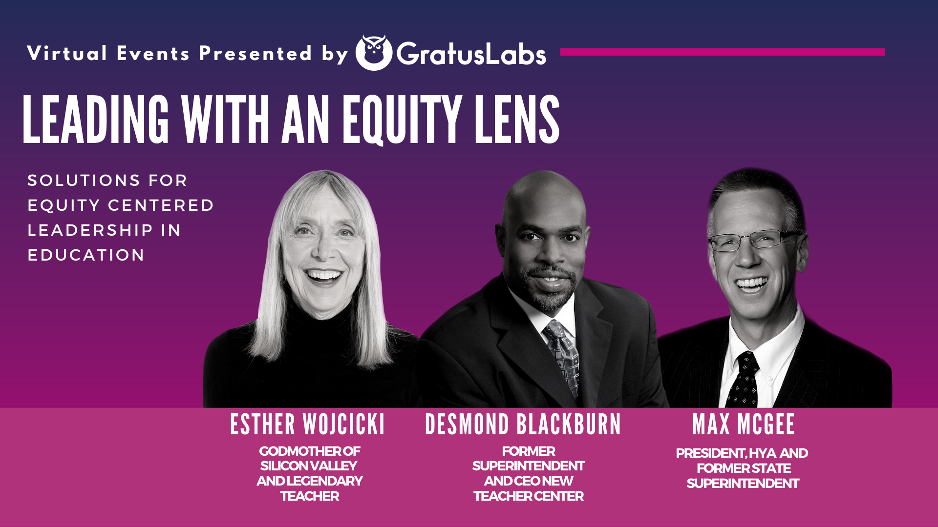 Leading with an Equity Lens – Solutions for Equity Centered Leadership in Education